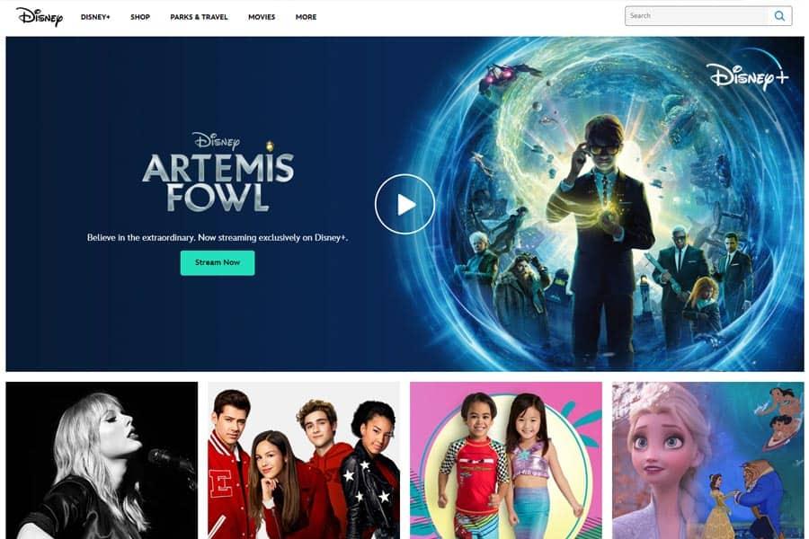 Disney Website