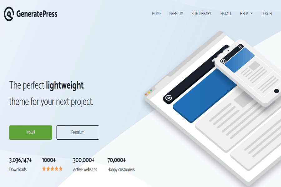 Generatepress Site