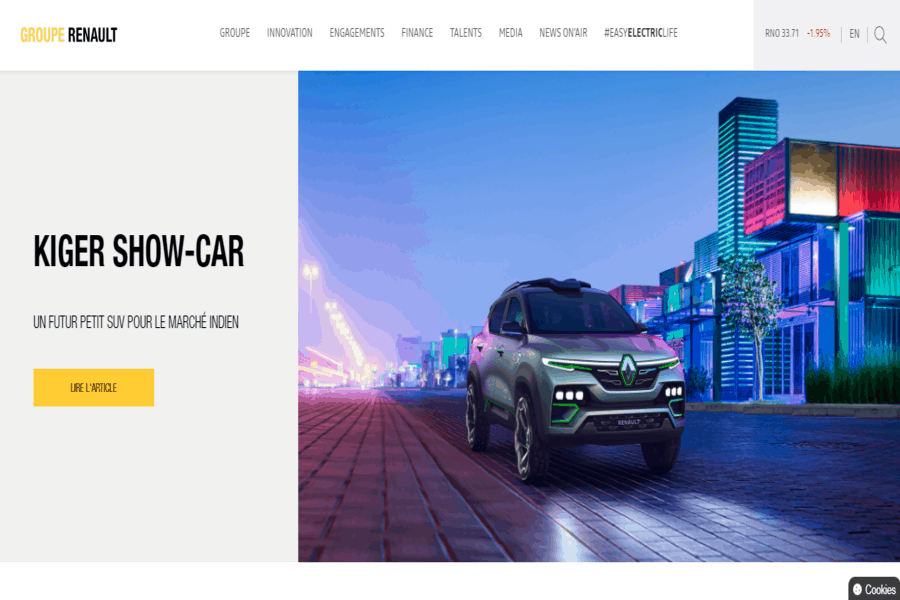 Group Renault Site Image