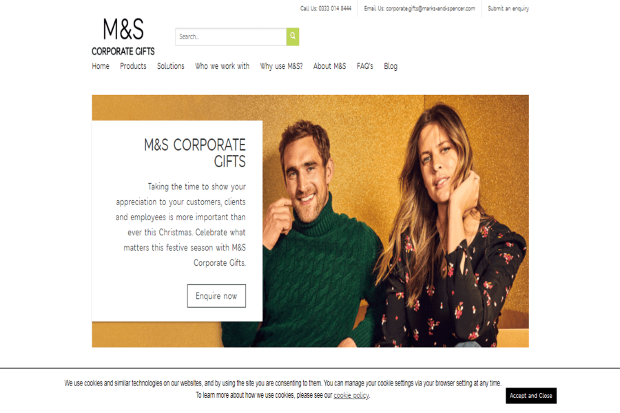 Marks And Spencer For Business