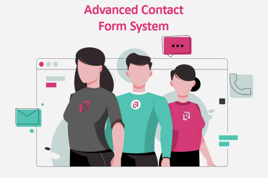 Advanced Contact Form System
