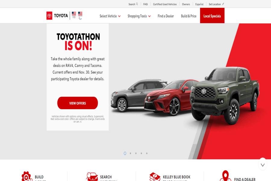 Toyota Site