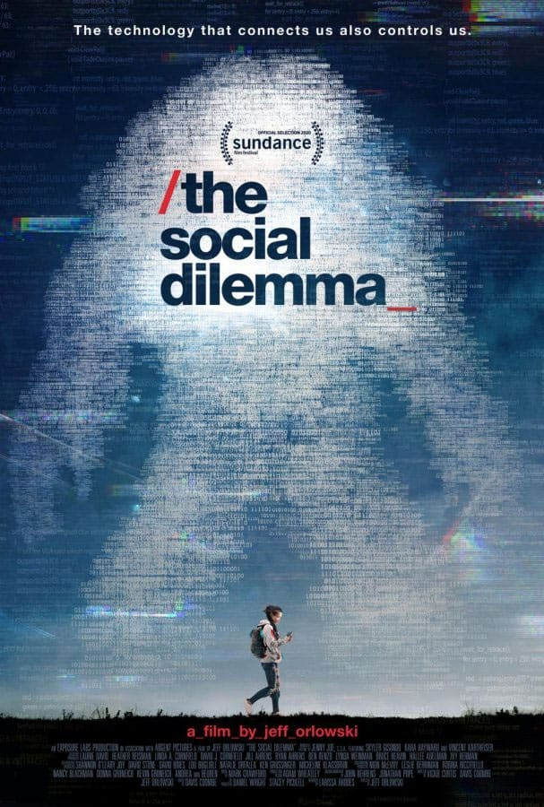The Social Dillema Movie On Netflix.