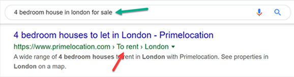 Image Of Bad Breadcrumb Example Real Estate.